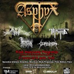 From Here To Past 2010: Asphyx, Pandemonium, Trauma, Throneum, Centurion; Warszawa, Progresja; 27.03.2010