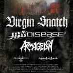 Creative Act Of Music Tour 2010: Virgin Snatch, Thy Disease, Armagedon, Heart Attack, Nammoth; Rzeszów, Klub Od Zmierzchu Do Świtu;