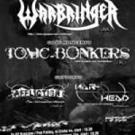 Warbringer, Toxic Bonkers, Affliction, War-Head; Rzeszów, Klub Pod Palmą, 24.02.2010