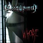 "Bloodwritten ""Whore"""
