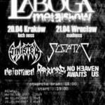 Laboga Metal Show; Kraków, Klub Loch Ness; 20.04.2007