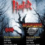 Hunter – koncerty na Podkarpaciu