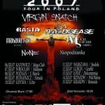 Metalfilia 2007; Rzeszów, Klub Pod Palmą; 14.12.2007