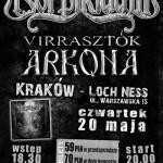 Korpiklaani, Arkona, Virrasztok w Krakowie
