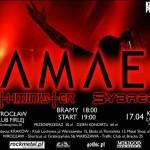 Samael, Gothminister, Sybreed, Ayin Aleph; Kraków, Klub Loch Ness; 17.04.2008