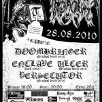 Throneum, Doombringer, Enclave, Ulcer, Persecutor w Lublinie
