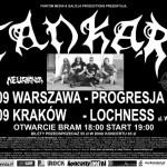 Tankard, Cremaster, Neuronia; Kraków, Klub Loch Ness; 7.11.2009