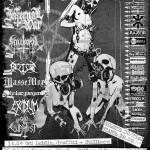 Witchmaster, Stillborn, Halucynogen, Excidium; Rzeszów, Klub 1/4 Mili; 15.04.2009