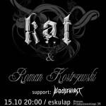 Kat & Roman Kostrzewski, Bloodthirst – Poznań, 15.10.2010