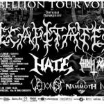 Rebellion Tour II; Rzeszów, Klub LIVE; 13.10.2010