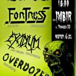 Toxic Anniversary: Fortress, Excidium, Overdozer; Kraków, Klub Imbir; 05.12.2010