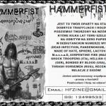 """""""Hammerfist 'zine"""" już dostępny"""
