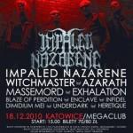 Sillesian Massacre Festival; Katowice, Mega Club; 18.12.2010