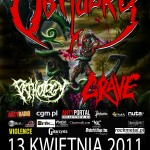Obituary, Grave, Pathology w Polsce