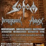 Silesian Massacre Fest II; Katowice, Mega Club; 02.04.2011