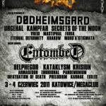 Silesian Massacre Festival III (lub 2 i 1/2); Katowice, Mega Club; 03-04.06.2011