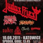Metal Hammer Festival 2011; Katowice, Spodek; 10.08.2011