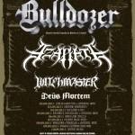 Blasphemer's Campaign 2011: Bulldozer, Azarath, Witchmaster, Deus Mortem; Rzeszów, Klub Live, 04.09.2011