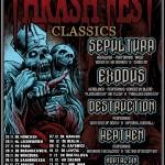 Thrashfest Classic Tour wreszcie w Polsce! Jedyny koncert w Katowicach!