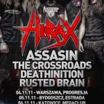 PozerKill 4ever Tour z Hiraxem i Assassinem już za dwa tygodnie! Hirax nagrywa DVD w Katowicach!
