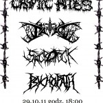 Psychopath, Sarcofuck, Hell Patrol i Cryptic Rites w Warszawie