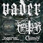 Blitzkrieg V: Vader, Marduk, Esquarial, Chainsaw; Rzeszów, Klub Pod Palmą; 09.09.2009
