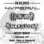 Shredlust zaprasza na koncert w Płocku