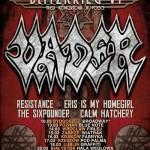 Blitzkrieg VI: Vader, Resistance, The Sixpounder, Eris Is My Homegirl, Calm Hatchery; Rzeszów, Klub Pod Palmą, 17.03.2012