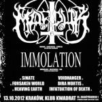 Marduk i Immolation 13 października w Krakowie!