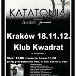 Katatonia w Krakowie