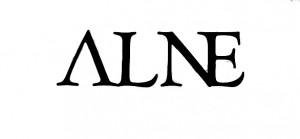 alne logo white
