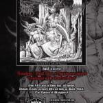 Split trzech black metalowych kapel w Odium Records