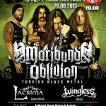 Metal Oblivion Night: Moribund Oblivion + Lacrima + Wingless w Krakowie