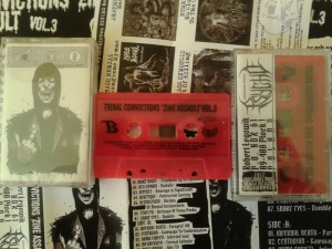 Kaseta TRIBAL CONVICTIONS'ZINE ASSAULT vol. III już gotowa!