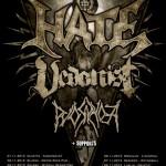 Hate headlinerem Rebellion Tour vol. III