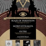 Southern Discomfort #22 – Blaze of Perdition + Mord'A'Stigmata + Outre + Fleshworld