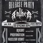 Anthem – release party u Bazyla