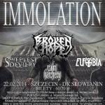 Immolation i Broken Hope w Szczecinie