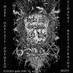 Untamed & Unchained Tour 2014: Mgła, Mare, Svartidauði, One Tail One Head, Bestial Raids; Kraków, Lizard King; 07.03.2014