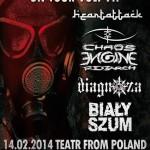 Liquid Metal Fest vol. 7 – ciężkie brzmienia w częstochowskim klubie Teatr From Poland 14 lutego