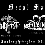GRYFINDOR METAL MASSACRE #2: Outre, Warfist, Warbell, Pożoga