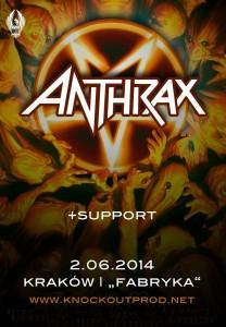Anthrax zapowiedź