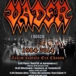 Vader na trzech koncertach w Polsce