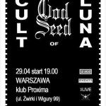 Cult of Luna, God Seed; Warszawa, Proxima, 29.04.2014