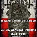 Już jutro koncert Mayhem w Warszawie!