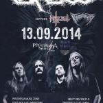 Carcass, Hazael, Thunderwar; Warszawa, Klub Progresja; 13.09.2014