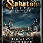 Sabaton na halowej trasie w Polsce
