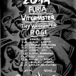 Dzicz 2014: Furia, Witchmaster, Thy Worshiper, Rogi; Warszawa, Klub Hydrozagadka; 08.11.2014