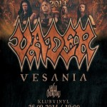 Blitzkrieg VII: Vader, Vesania, Calm Hatchery; Klub Vinyl, Rzeszów; 26.09.2014