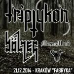 Triptykon, Bölzer, Massemord, Spirit; Kraków, Klub Fabryka; 21.12.2014